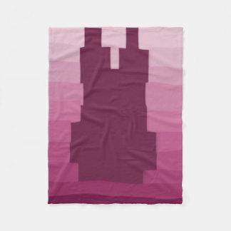 Bunny Pink Fleece Blanket