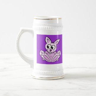 Bunny Rabbit 18 Oz Beer Stein