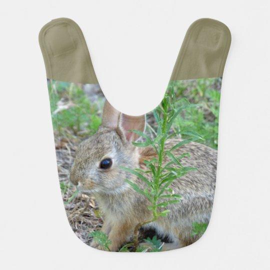 Bunny Rabbit Baby Bib