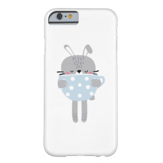 Bunny Rabbit & Cup Barely There iPhone 6 Case