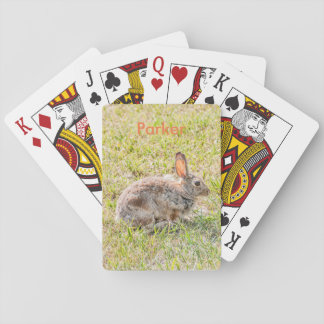 Bunny Rabbit - Easter - Wildlife - Animal Playing Cards