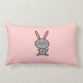 Bunny Rabbit Lumbar Pillow
