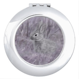 Bunny Rabbit photography art Makeup Mirror