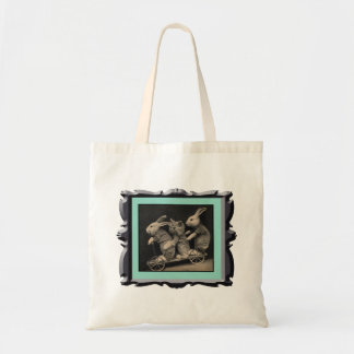 Bunny Rides Tote Bag