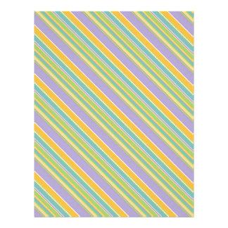 Bunny Scrapbook Paper B Letterhead Template