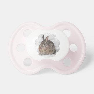 Bunny Seeking Shelter Pacifier