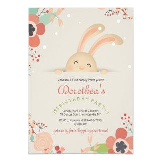 Bunny Smiles Invitation
