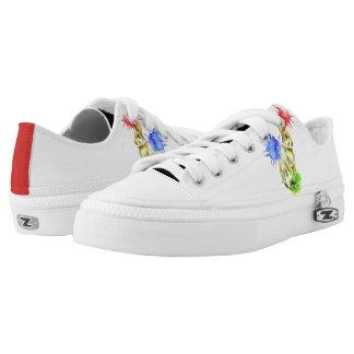 Bunny Splatter Low-Top Sneakers