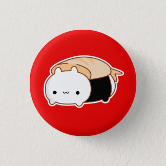 Bunny Sushi Roll Button *CHOOSE YOUR OWN SIZE
