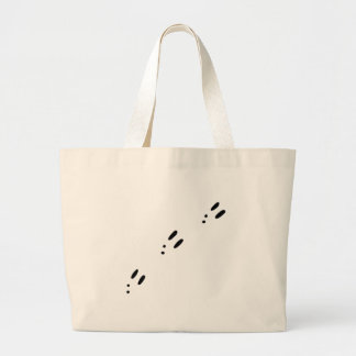 Bunny Tracks Large Tote Bag