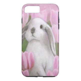 Bunny & Tulips iPhone 8 Plus/7 Plus Case