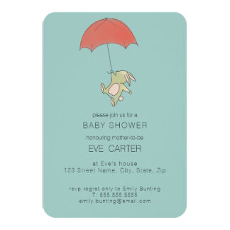 Bunny Umbrella Card