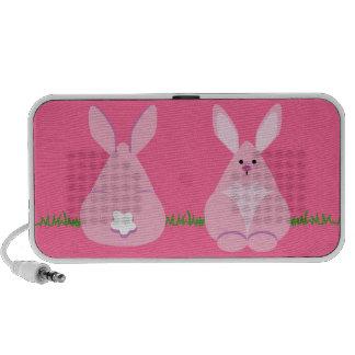 Bunny Watching Mini Speakers