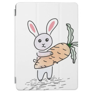 Bunny with a Carrot iPad Air Cover