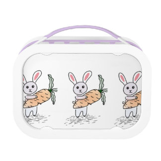 Bunny with a Carrot Lunch Box