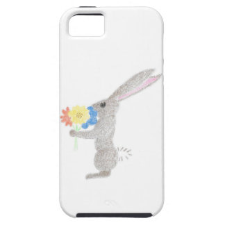 Bunny With Flowers Case For The iPhone 5