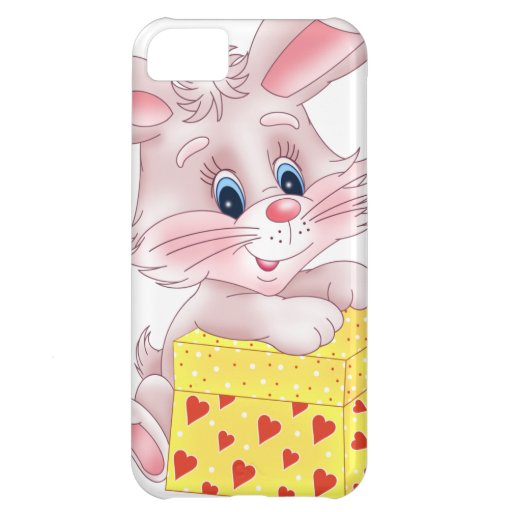 bunny with gift case for iPhone 5C