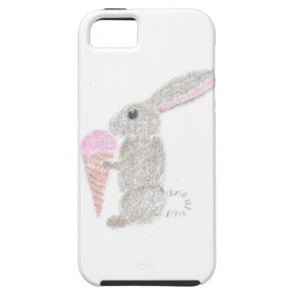 Bunny with Ice Cream Case For The iPhone 5