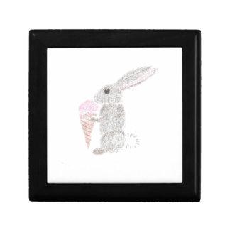 Bunny with Ice Cream Gift Box