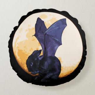 BunnyLuv Halloween Pillow featuring Ethan