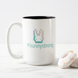#bunnystrong Mugs