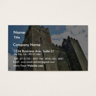 Bunratty Castle Business Card