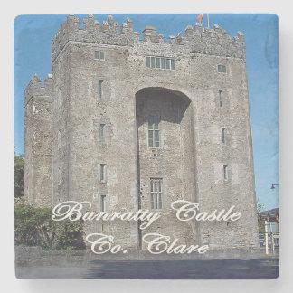 Bunratty Castle, Co. Clare, Ireland Coasters Stone Beverage Coaster