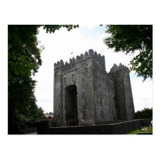 Bunratty Castle Ireland Postcard