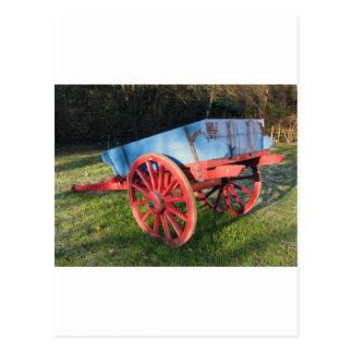 Bunratty farm cart postcard