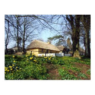 Bunratty Folk Park cottage Postcard