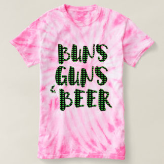 buns guns & beer funny green st patricks day t-shirt