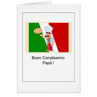 Buon Compleanno Papà - Happy Birthday in Italian Card