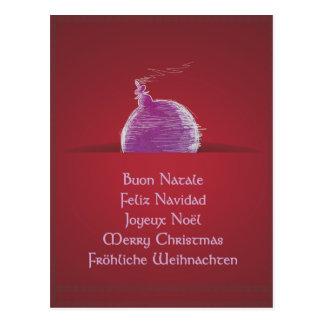 Buon Natale Feliz Navidad Joyeux Noël Post Cards