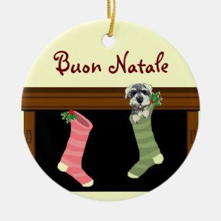 Buon Natale Italian Christmas Ornament