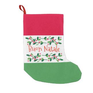 Buon Natale (Merry Christmas) Small Christmas Stocking