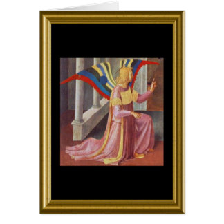 Buon natale - St. Francis Prayer in Italian Card