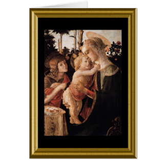 Buon natale - St. Francis Prayer in Italian Card