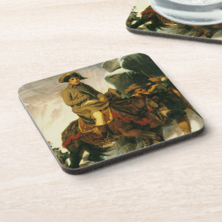 'Buonaparte Crossing the Alps' Coasters