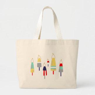 Buoys Large Tote Bag