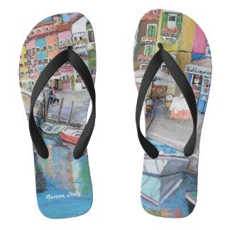 Burano Flip Flops