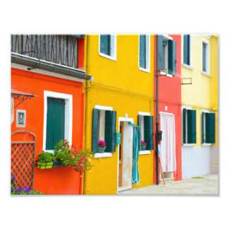 Burano Italy Buildings Art Photo