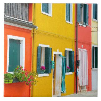 Burano Italy Buildings Ceramic Tiles