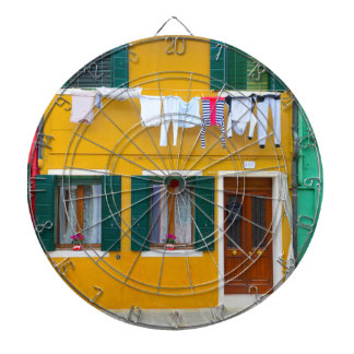 Burano Italy Buildings Dart Boards