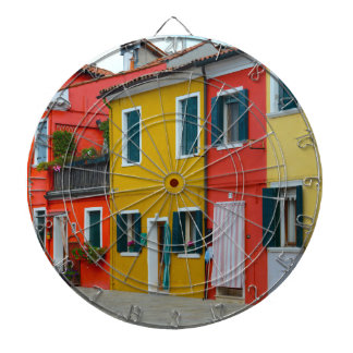 Burano Italy Buildings Dartboards