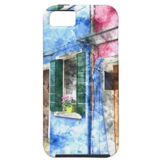 Burano Italy Buildings iPhone 5 Cover