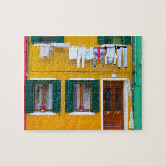 Burano Italy Buildings Puzzle