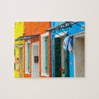 Burano Italy Buildings Puzzles