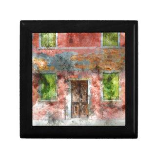 Burano Italy near Venice Italy Gift Box