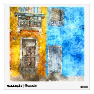 Burano Italy near Venice Italy Wall Sticker
