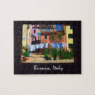 Burano Italy Puzzles